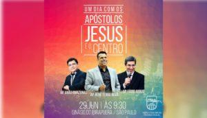 """Congresso Regional SP - Um dia com os apóstolos """"JESUS É O CENTRO"""" @ Ginásio do Ibirapuera"""